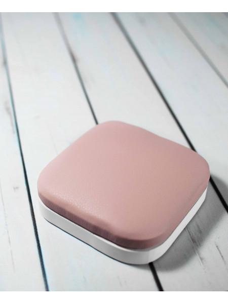 Подставка маникюрная под локоть квадрат (розовая)