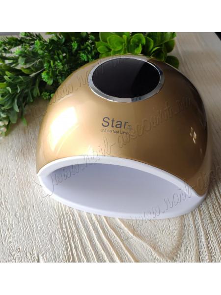 Лампа Star 5 UVLed 48W (золотая)