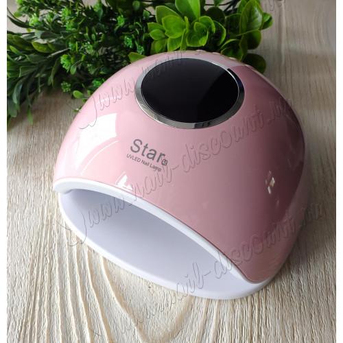 Лампа для сушки гель лака Star 5 UVLed 48W (розовая) в Чебоксарах