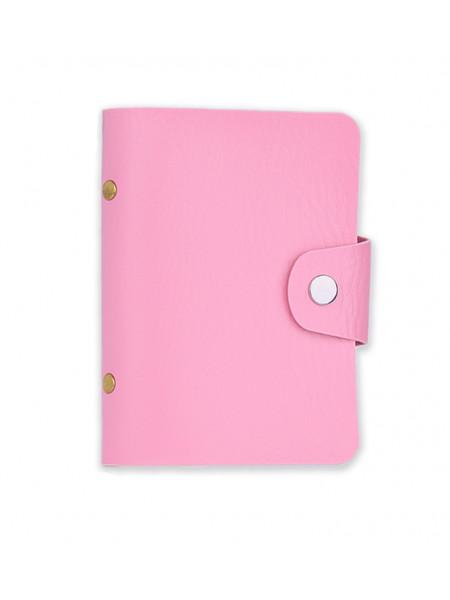 Альбом для пластин розовый