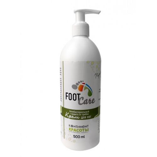 """Крем для ног антибактериальный+защита от грибка """"Континент Красоты"""" 500 мл в Чебоксарах"""