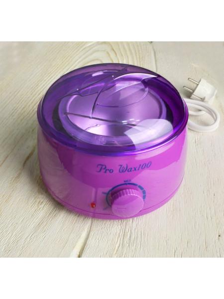 Воскоплав для горячего воска Pro-Wax 100 (фиолетовый)