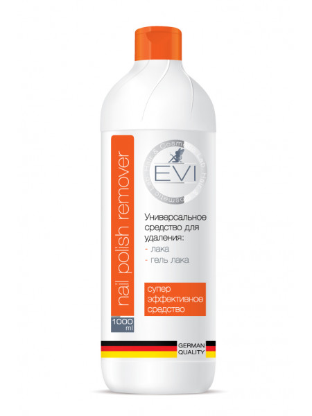 EVI Professional Средство для удаления лака и гель-лака 1000 мл
